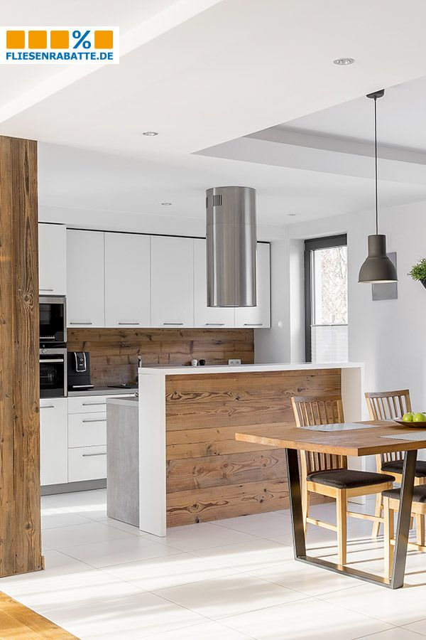 Holzoptik Am Küchenspiegel Na Klar Für Ein Wohnliches