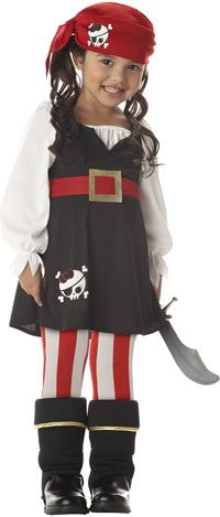 Lil Pirate Girls costume pirate costume kidscostume AUD $29.95