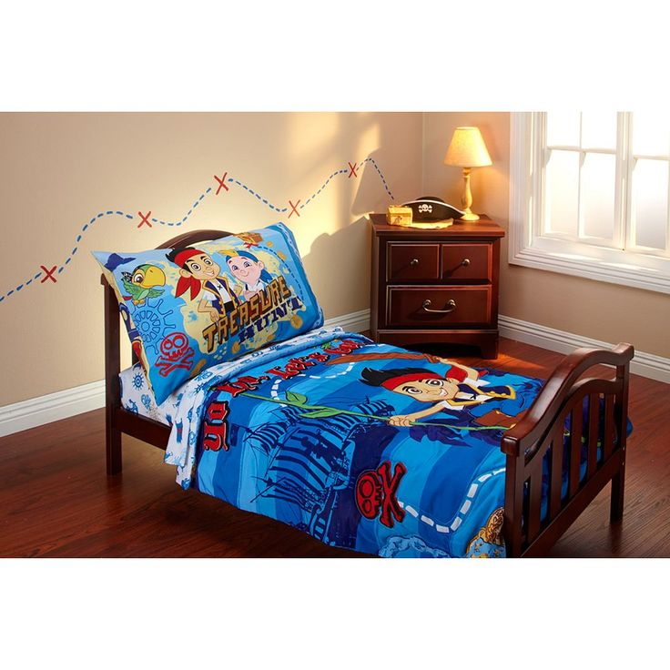 Disney Jake and the Never Land Pirates 4-pc. Toddler Bedding Set, Multicolor
