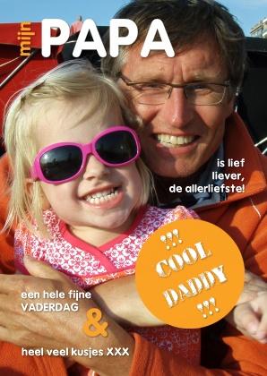 Vaderdagkaart door OTTI (foto en tekst aan te passen), verkrijgbaar bij Kaartje2Go