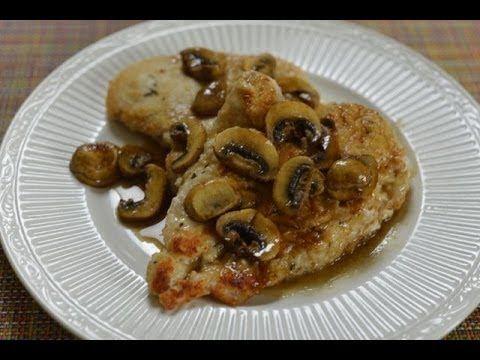 Copycat Recipe Olive Garden Chicken Marsala Youtube Recipes I To Try Pinterest Gardens