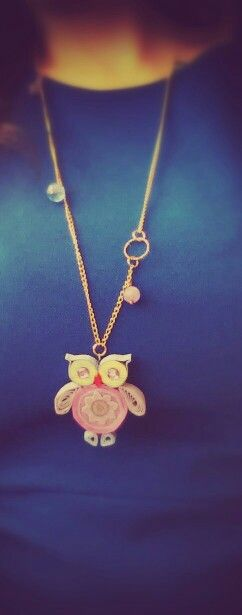 Pretty Owl - Quilling