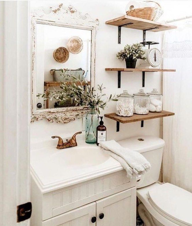 New The 10 Best Home Decor With Pictures Cute Bathroom Via Pinterest Small Shelves Farmhouse