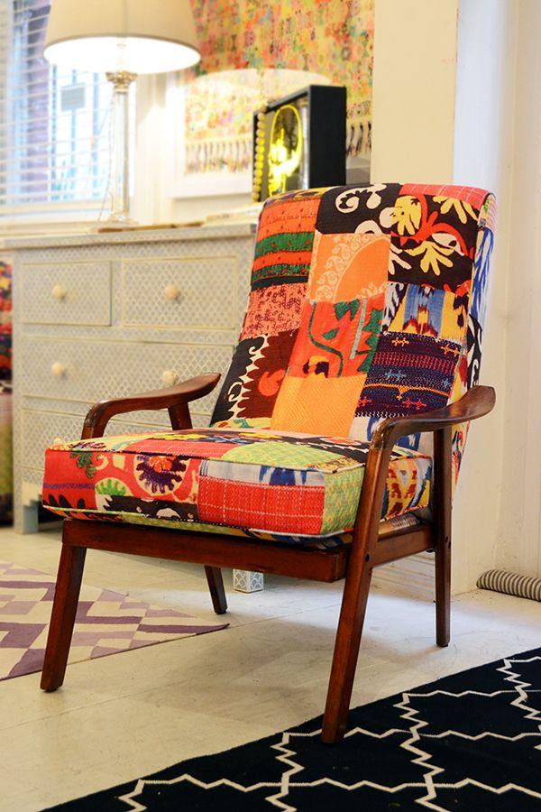 best 25  patchwork chair ideas on pinterest