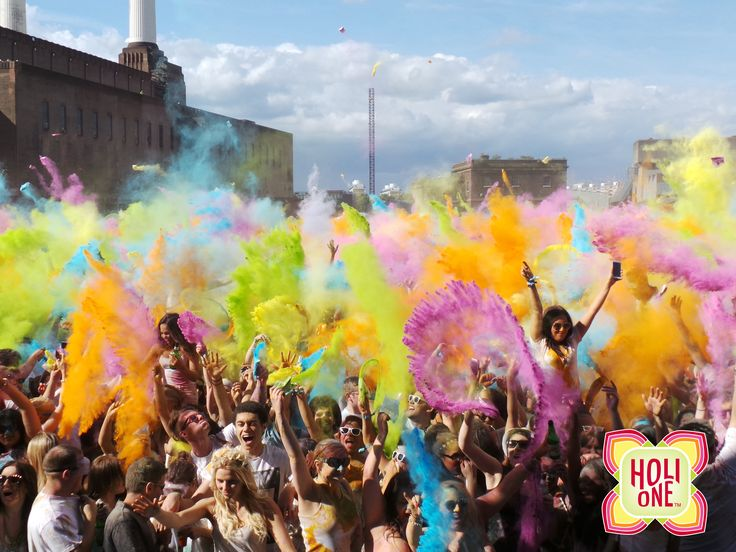 London HOLI ONE Colour Festival #holione #holi #holioneworld #festivalofcolours #event #colours #london #holilondon