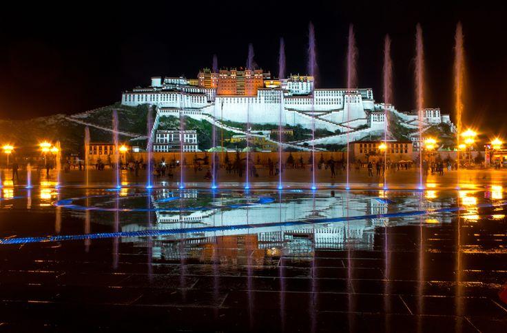 Фотография Evening colors in Lhasa автор Julia Khudiakova на 500px