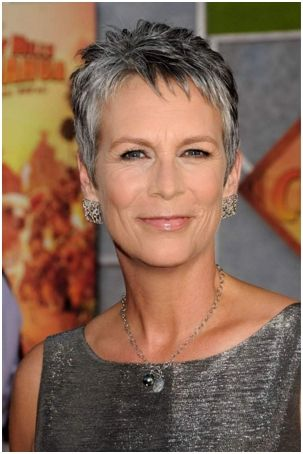 short hairstyles for women over 50 fine hair | Jamie Lee Curtis Short Hair - Welcome to Short Haircuts Official Site ...
