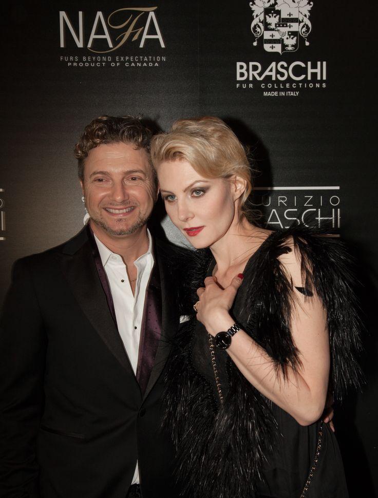 Renata Litvinova  and Maurizio Braschi #braschifur #luxury #classy #fur #fashion