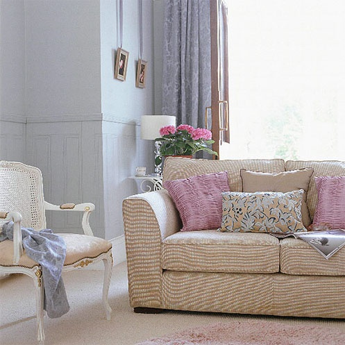 Light Blue And Pink. Home Living RoomLuxury ... Part 81