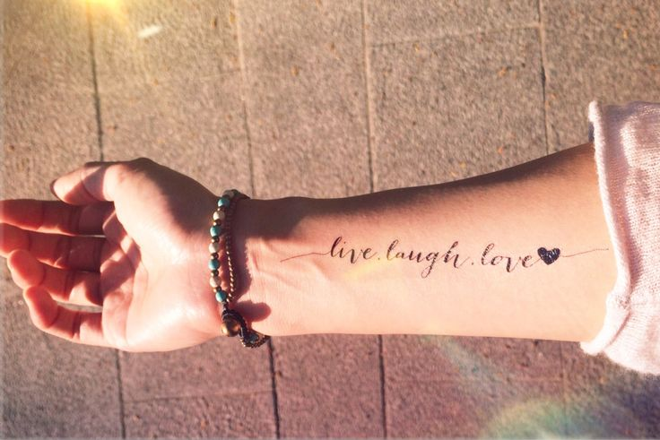 live love laugh tattoos - Google Search