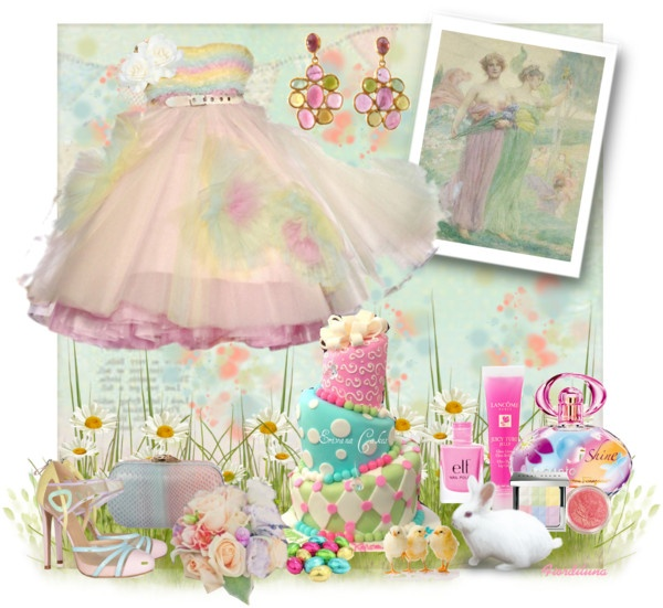 """""""Happy Easter"""" by fiordiluna on Polyvore"""