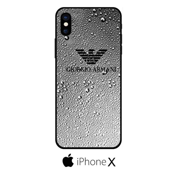 finest selection 9dd7d c9c6a Giorgio Armani Logo IPHONE X | MY NEW PHONE in 2019 | Phone, Iphone ...