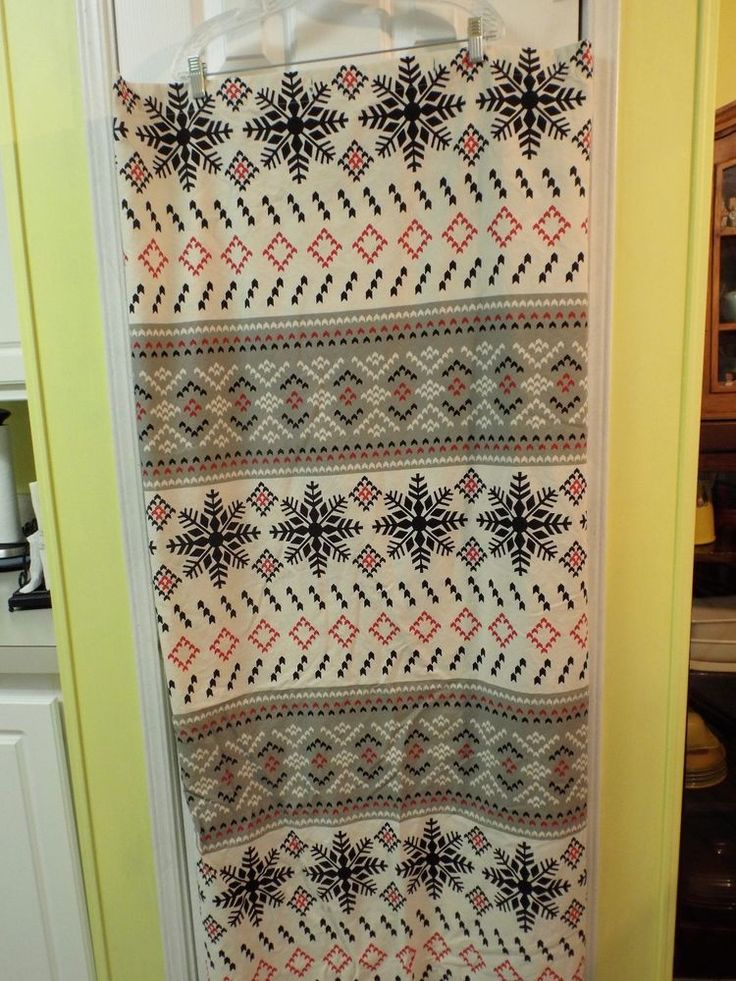 Rustic Bathroom Shower Curtain Aztec Vibe Black Red Gray Ivory Home Decor  #Target #Southwestern