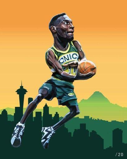 Nba 2k 20 Wallpaper: 758 Best Images About NBA Art On Pinterest