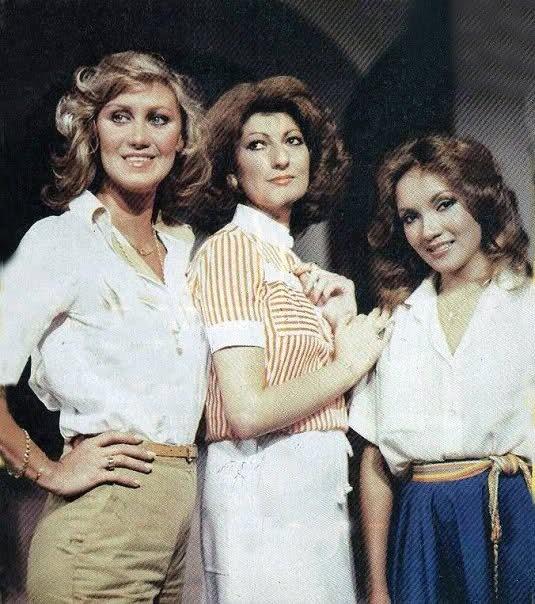 """Herminia Martinez,Ivon attas y Caridad Canelon en """"Tres Mujeres""""..."""