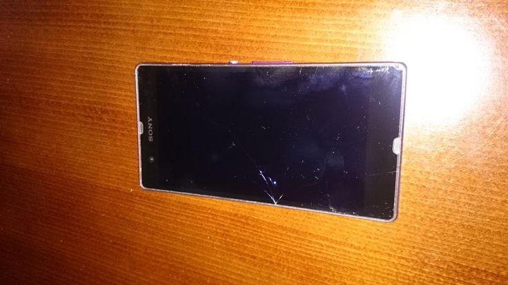 Sony XPERIA Z uszkodzony dotyk i ekran KPL.