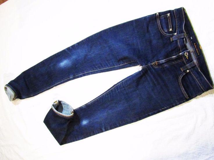 ladies pants  Nudie  mod Tube Kelly Rinsed Strikey  28/34    eBay