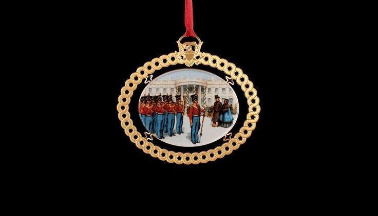 White House Christmas Ornament: 1994