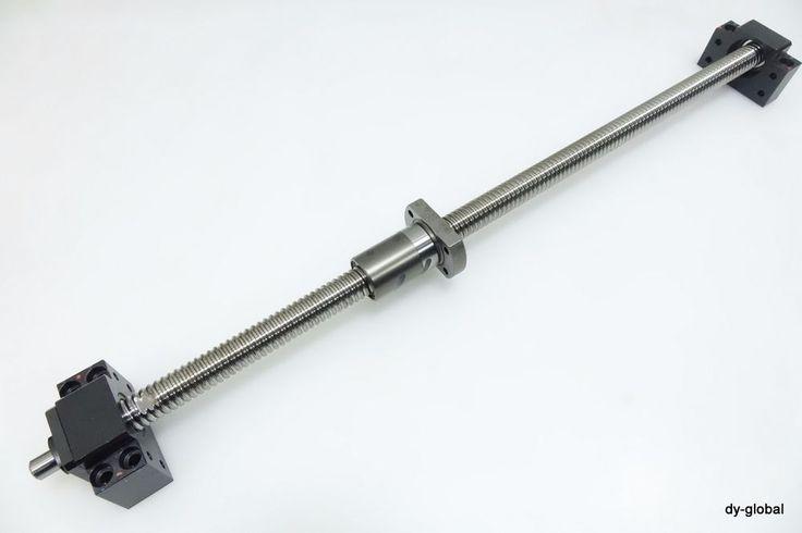 THK Used DIK2004-6+623L +BK15+BF15 Preload Ground Ball Screw CNC BSC-I-368=IM12 #THK