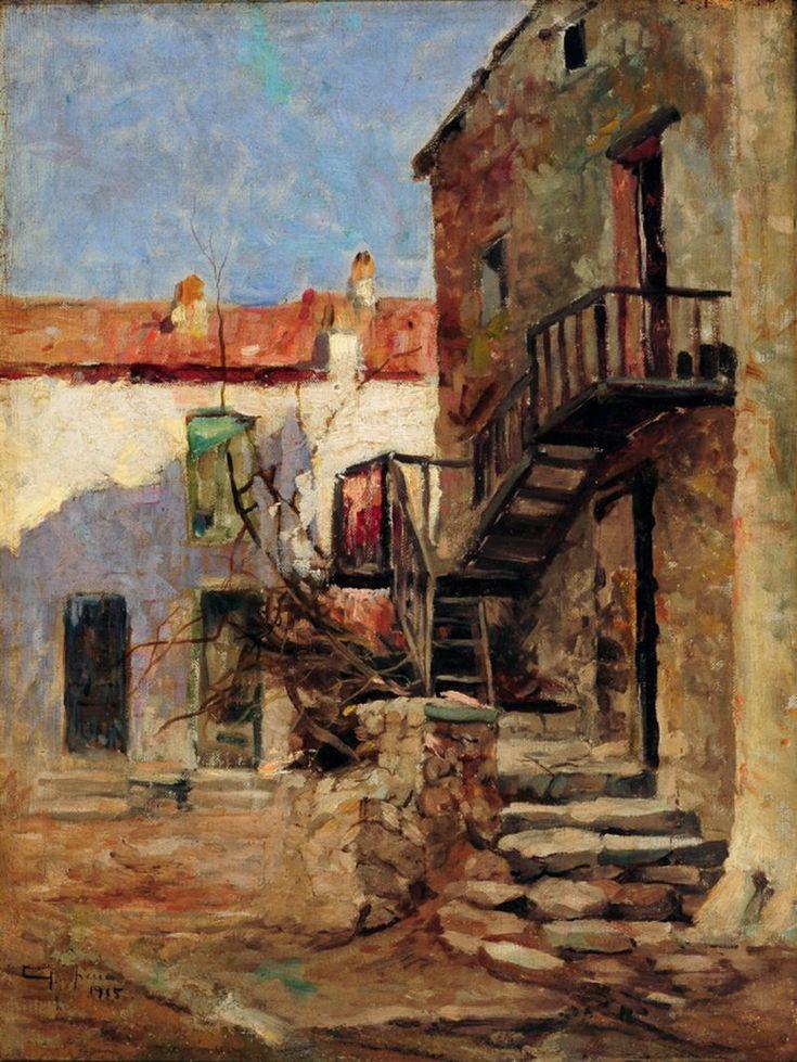File:Antônio Parreiras - Casas em Piana (Córsega, França).jpg