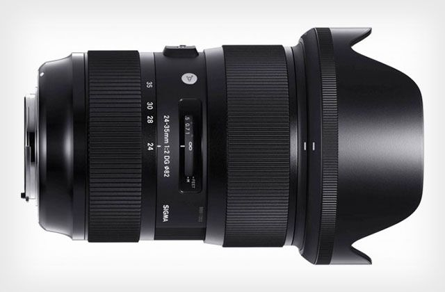 Sigma recently announced another groundbreaking lens in their acclaimed Global Vision line of Art series lenses, the 24-35mm f/2. This is the world's first