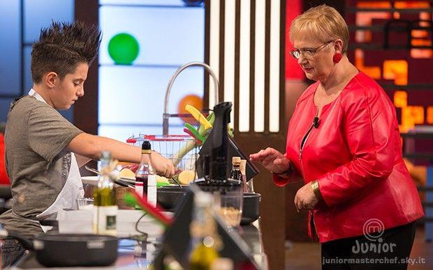 Andrea B. mostra la sua preparazione a Lidia