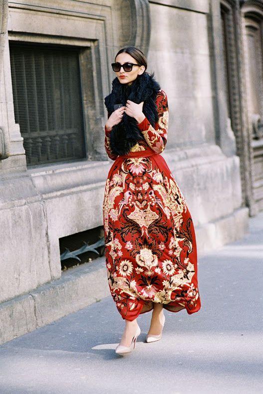 oriental print dresses 24