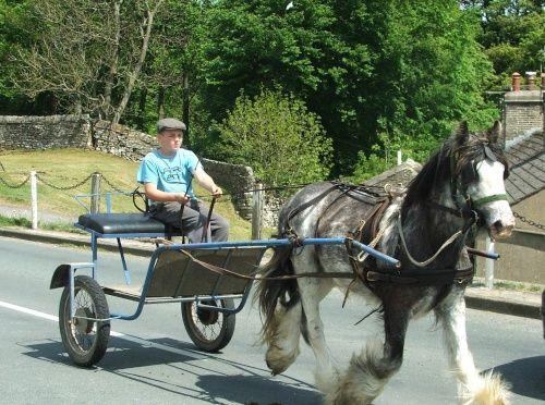 North Yorkshire.: North Yorkshire,  Horse-Cart