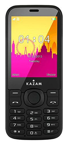 KAZAM Life B7 UK SIM-Free Mobile Phone - Black - http://www.computerlaptoprepairsyork.co.uk/mobile-phones/kazam-life-b7-uk-sim-free-mobile-phone-black