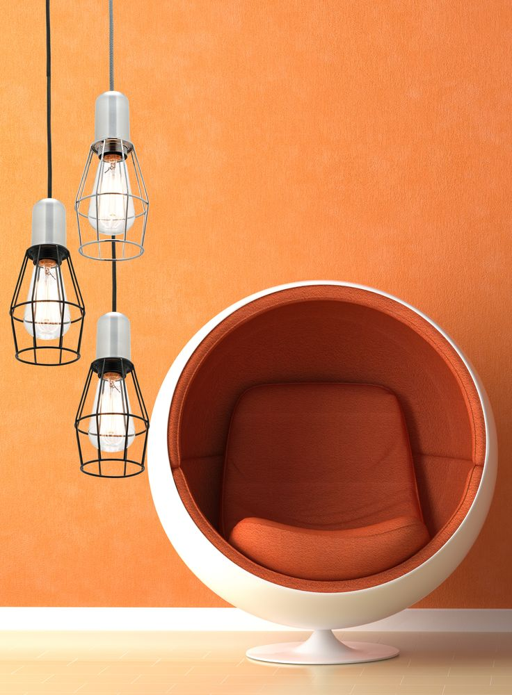 #MercatorLighting Cage Pendants with Dream Cords #LightingInspiration #HangingLights