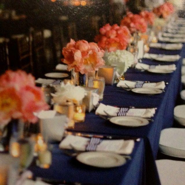 6 Awesome navy grey blush wedding images