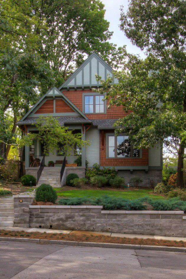 15 inviting american craftsman home exterior design ideas - Home Exterior Design Ideas