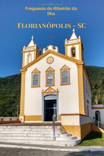 Igreja Nossa Senhora da Lapa, na Freguesia do Ribeirão da Ilha, em Floripa! Um dos muitos recantos encantadores da Ilha da Magia.