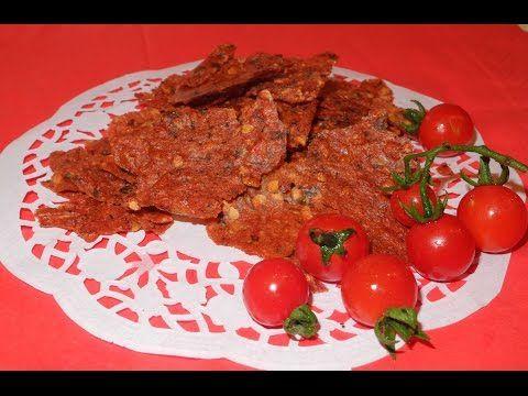 Сухая аджика (томатные чипсы). Как приготовить томатный соус.