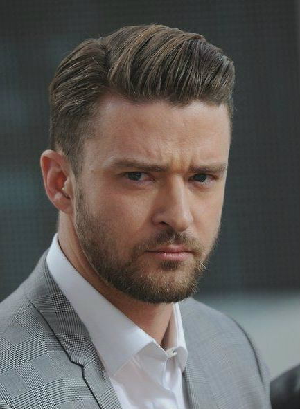 The Modern Side Part for Men with Short Haircut