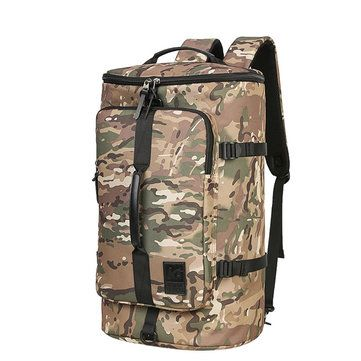 Men Travel Bag 40L High Capacity Backpack Water Repellent Oxford Outdoor Backpac - US$48.60