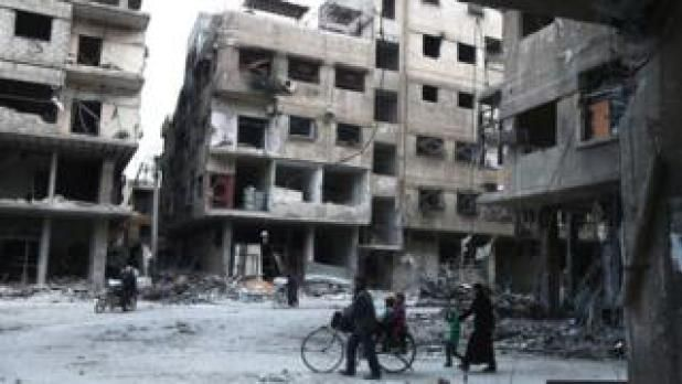 Syria conflict: Eastern Ghouta 'humanitarian pause' begins