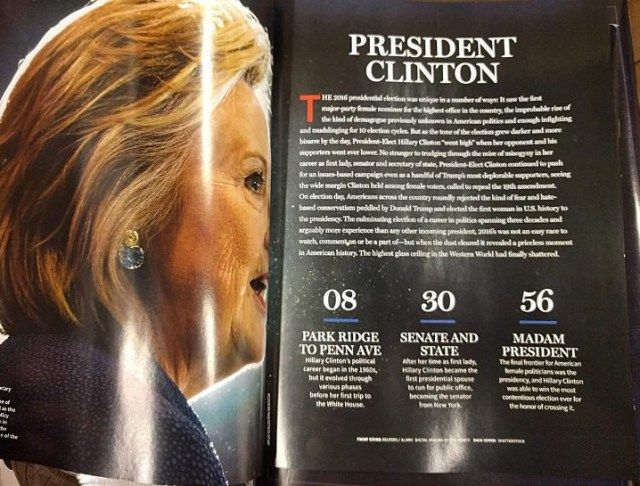 "Liberal Economics: Newsweek Yanks Hillary ""Madam President"" Issue From Stores; Eats $500K Loss  newsweekinside"