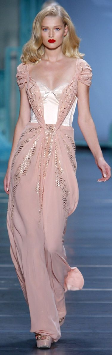 www.fashion2dream.com New fashion  designs from Zac Posen Catwalk Fashion Show