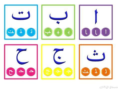 Les 13 meilleures images du tableau arabe sur pinterest cours arabe langue arabe et apprendre - Alphabet arabe a imprimer ...