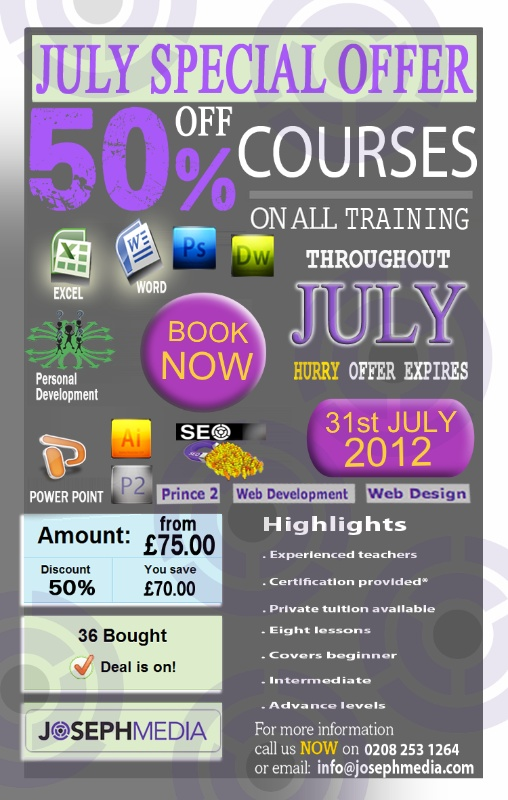 July Offers...