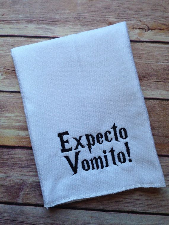 Harry Pottrr baby https://www.etsy.com/listing/196475791/harry-potter-burp-cloth-expecto-vomito