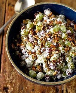Trisha Yearwood's Grape Salad with Toasted Pecans