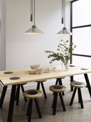Codie Rise & Fall, Polished Aluminium