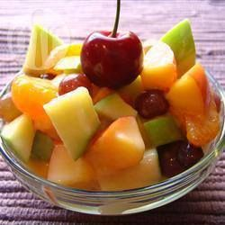 Mixed Fruit Salad in Melon Halves @ allrecipes.com.au