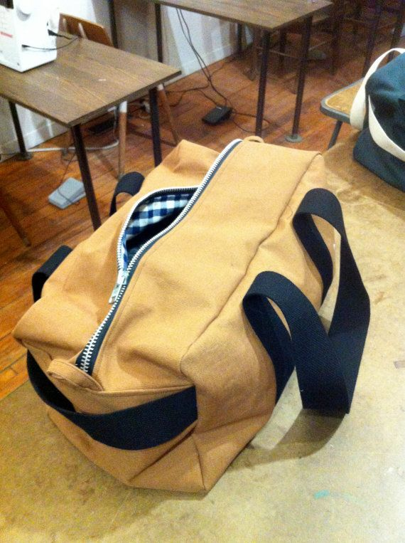 The now famous Duffle bag sewing pattern from the very first class I started teaching at www.theworkroom.ca .  This pattern and construction method
