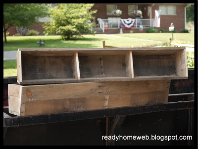 DIY - Pallet Window Box Planters. Have always wanted window planters. :)