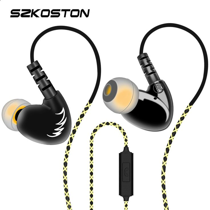 MP3 players for sports SZKOSTON Professional Stereo Earphone Ear Hook Waterproof Sports earphones Heavy Bass Sound Quality heads For Mobile Phones - One of the best MP3 players in the market. It is submersible up to two meters, is available in five colors.
