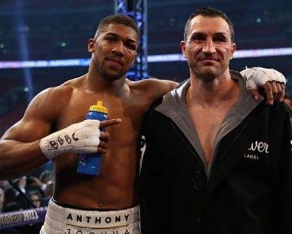 Klitschko's fight - Joshua was recognized the best in a year