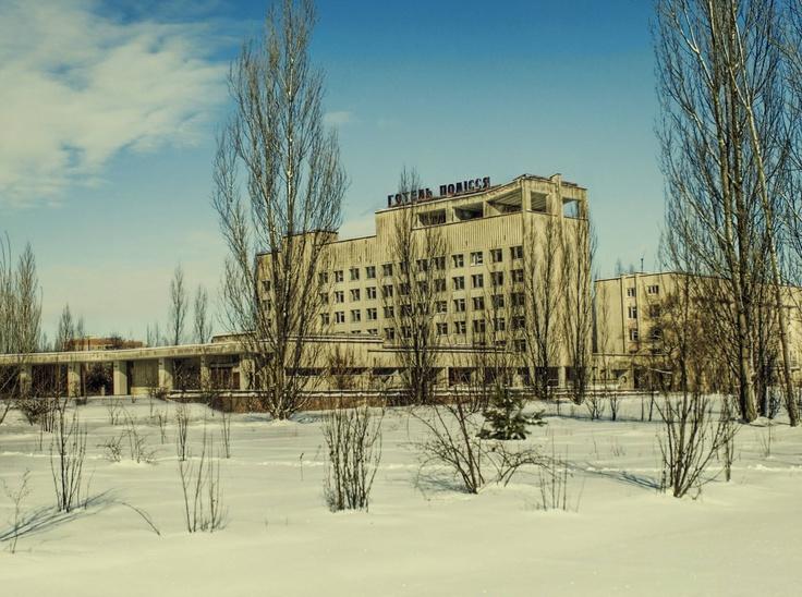 Chernobyl now.